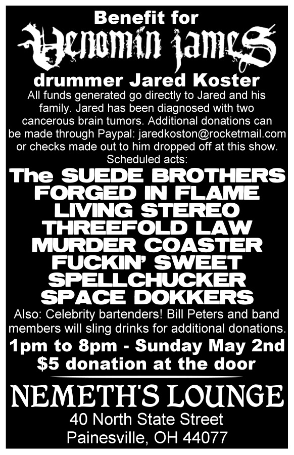This is going to rock so hard! For a good cause.