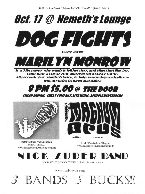 Magnum Opus, Nick Zuber & a talking dog? 10/17/07