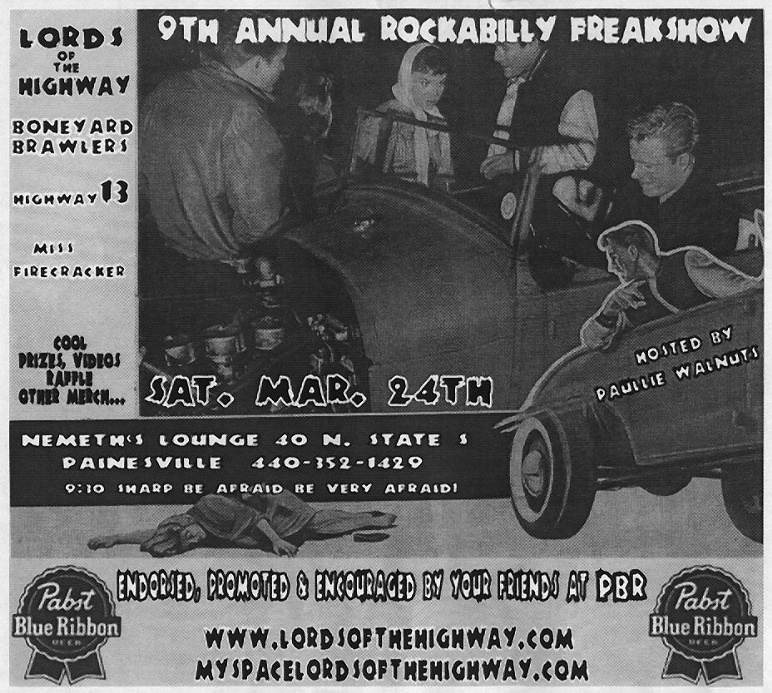 rockabilly freakshow- 9th annual